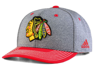 Chicago Blackhawks adidas NHL Heather Line Change Cap
