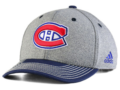 Montreal Canadiens adidas NHL Heather Line Change Cap