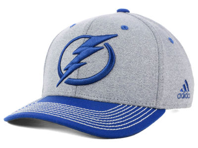 Tampa Bay Lightning adidas NHL Heather Line Change Cap