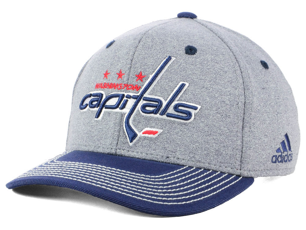 outlet store e8507 0195d ... germany washington capitals adidas nhl heather line change cap 6122a  a03ee