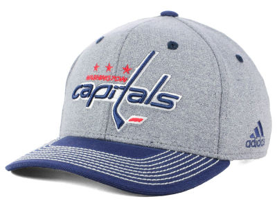 Washington Capitals adidas NHL Heather Line Change Cap