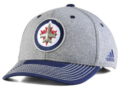 Winnipeg Jets adidas NHL Heather Line Change Cap
