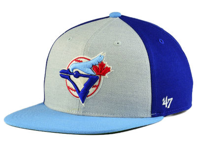 Toronto Blue Jays '47 MLB Heather Front Coop Snapback Cap