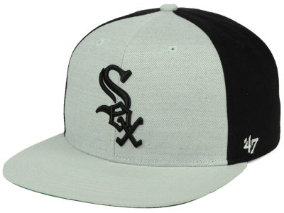 Chicago White Sox '47 MLB Heather Front Snapback Cap