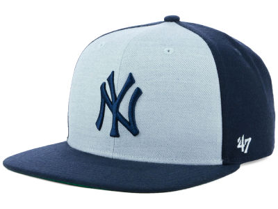 New York Yankees '47 MLB Heather Front Snapback Cap