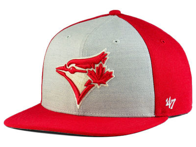 Toronto Blue Jays '47 MLB Heather Front Snapback Cap
