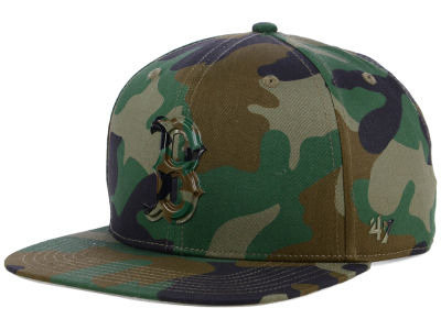 Boston Red Sox '47 MLB Camo Snapback Cap