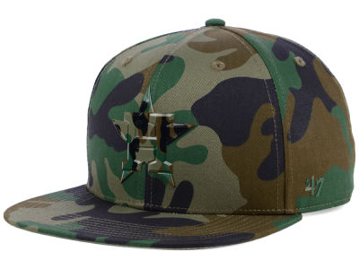Houston Astros '47 MLB Camo Snapback Cap