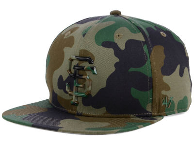 San Francisco Giants '47 MLB Camo Snapback Cap