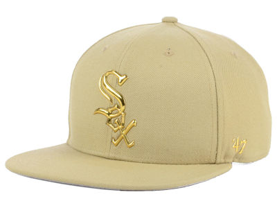 Chicago White Sox '47 MLB Khaki Snapback Cap