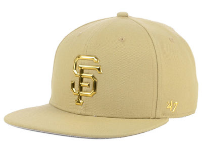 San Francisco Giants '47 MLB Khaki Snapback Cap