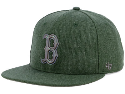 Boston Red Sox '47 MLB Olive Snapback Cap