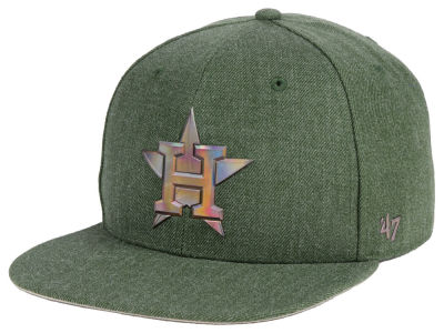 Houston Astros '47 MLB Olive Snapback Cap