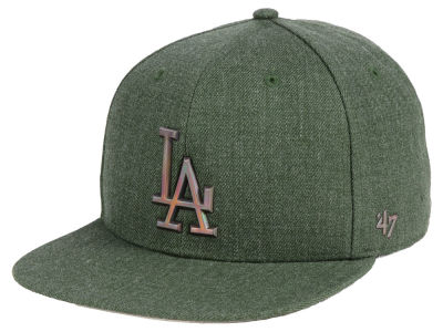 Los Angeles Dodgers '47 MLB Olive Snapback Cap