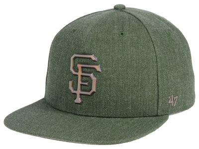 San Francisco Giants '47 MLB Olive Snapback Cap