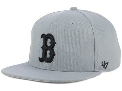 Boston Red Sox '47 MLB Gray Snapback Cap