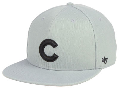 Chicago Cubs '47 MLB Gray Snapback Cap