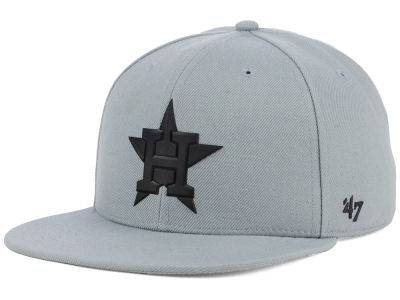 Houston Astros '47 MLB Gray Snapback Cap