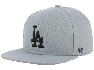 Los Angeles Dodgers '47 MLB Gray Snapback Cap