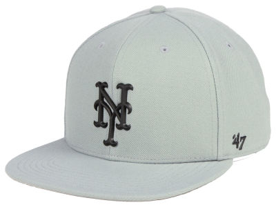 New York Mets '47 MLB Gray Snapback Cap