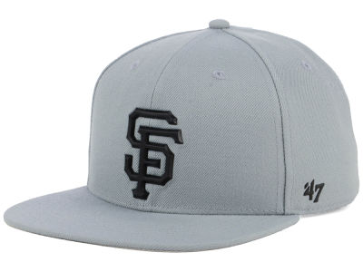 San Francisco Giants '47 MLB Gray Snapback Cap