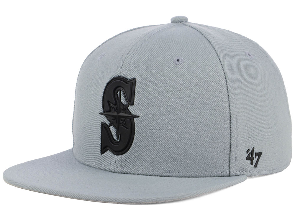 d60520e00e6cb norway seattle mariners 47 mlb gray snapback cap f3fdf 3d7ff