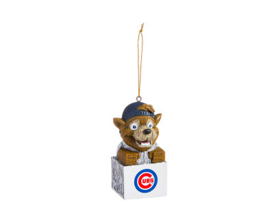 Chicago Cubs Tiki Totem Ornament