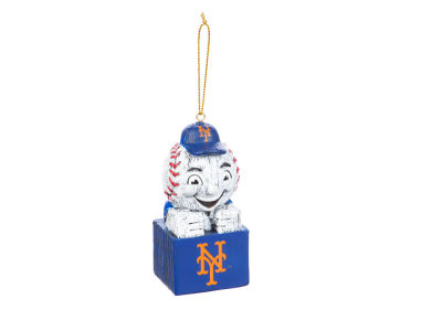 New York Mets Tiki Totem Ornament