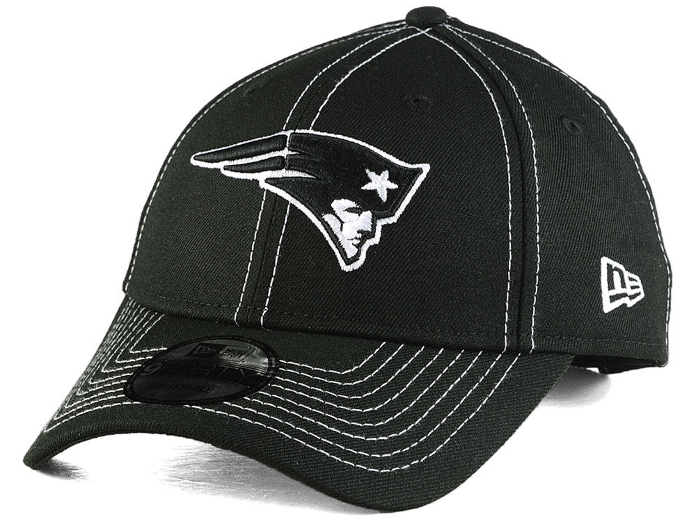 0104aeeee New England Patriots New Era NFL League Black 9FORTY Cap