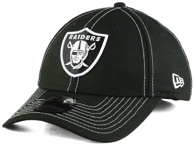Oakland Raiders New Era NFL League Black 9FORTY Cap