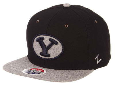 Brigham Young Cougars Zephyr NCAA The Boss Snapback Cap