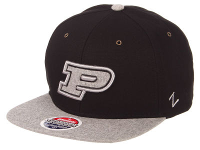 Purdue Boilermakers Zephyr NCAA The Boss Snapback Cap