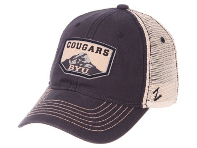 Brigham Young Cougars Zephyr NCAA Trademark Adjustable Cap