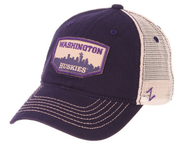Washington Huskies Zephyr NCAA Trademark Adjustable Cap