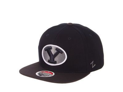 Brigham Young Cougars Zephyr NCAA Invert Snapback Cap