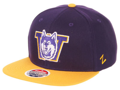Washington Huskies Zephyr NCAA Invert Snapback Cap