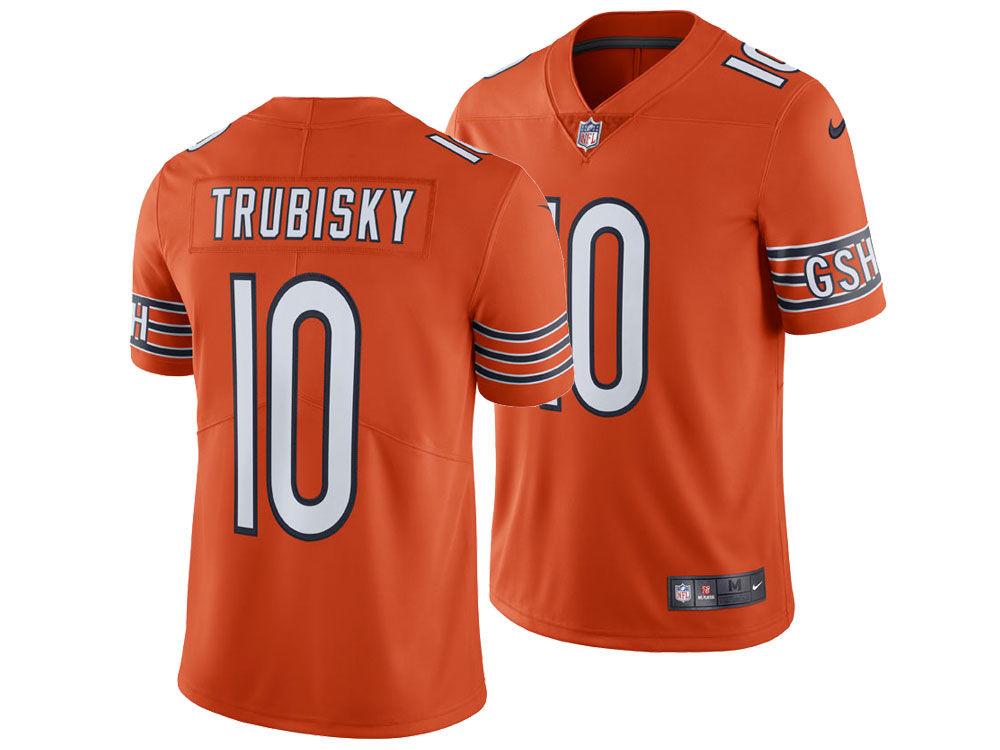 Chicago Bears Mitchell Trubisky Nike NFL Men s Vapor Untouchable Limited  Jersey  e862d4a49