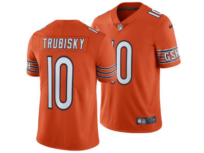 Chicago Bears Mitchell Trubisky Nike NFL Men's Vapor Untouchable Limited Jersey