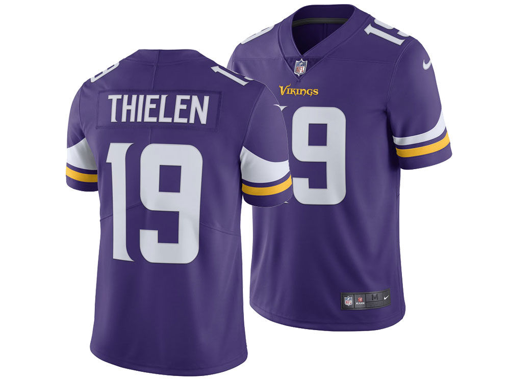 Minnesota Vikings Adam Thielen Nike NFL Men s Vapor Untouchable Limited  Jersey  503ba3daa
