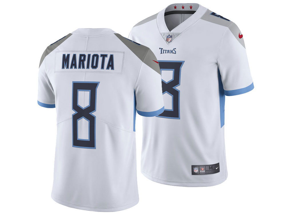 Tennessee Titans Marcus Mariota Nike NFL Men s Vapor Untouchable Limited  Jersey. Tennessee Titans Marcus ... 17fe5f663