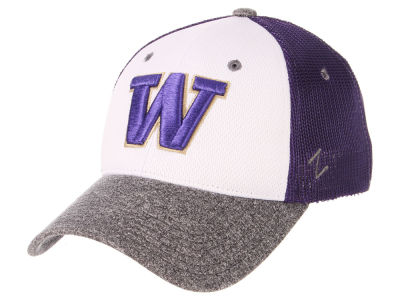 Washington Huskies Zephyr NCAA League Meshback Flex Cap