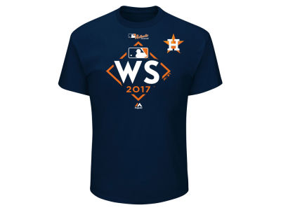 Houston Astros Majestic 2017 MLB Men's World Series Participant T-Shirt