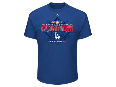Los Angeles Dodgers 2017 MLB Men's League Champ Roster T-Shirt