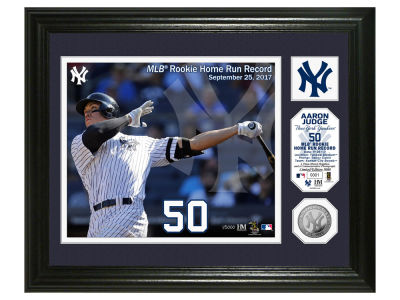New York Yankees Aaron Judge Single Coin Player Photo