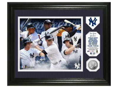 New York Yankees Team Force Single Coin Photo