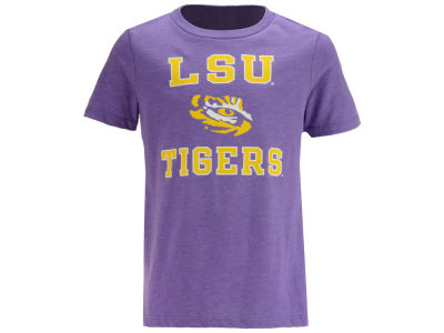 LSU Tigers Retro Brand NCAA Youth Dual Blend T-Shirt