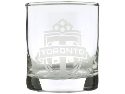 Toronto FC Etched Rocks Glasses - 2pk