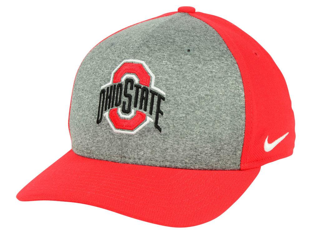 Ohio State Buckeyes Nike NCAA Legend Swooshflex Cap  ab9311dd3fba