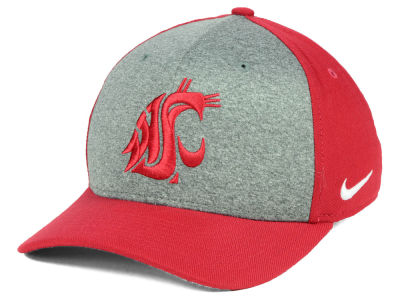 Washington State Cougars Nike NCAA Legend Swooshflex Cap