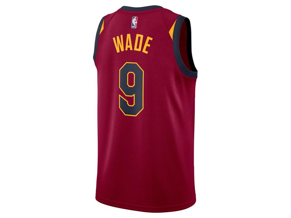 d0724d359 Cleveland Cavaliers Dwyane Wade Nike NBA Men s Icon Swingman Jersey ...